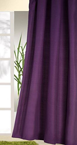 Lila Vorhnge. Fabulous Amazonde X Cm Wei Violett Grau Vorhang