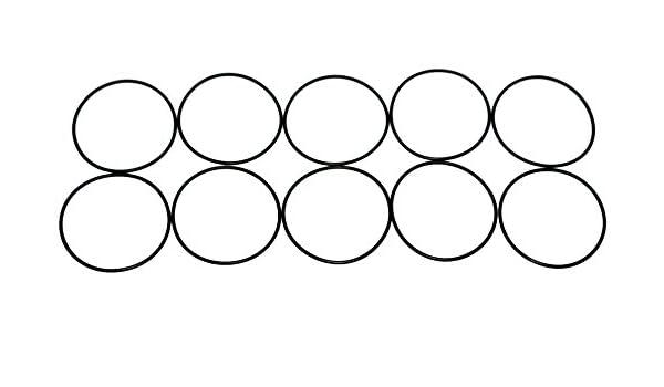 Sterling Seal ORVT233x10 Viton Number-233 Standard O-Ring 3-1//8 OD Pack of 10 Sur-Seal 2-7//8 ID 3-1//8 OD 70 Durometer Hardness Pack of 10 2-7//8 ID Fluoropolymer Elastomer