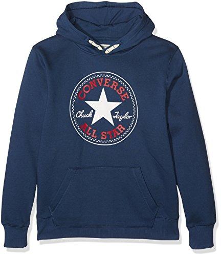 Converse Jungen Jogginganzug Core Pullover Hoodie, Blau (All Star Navy B9P), 10-11 Jahre