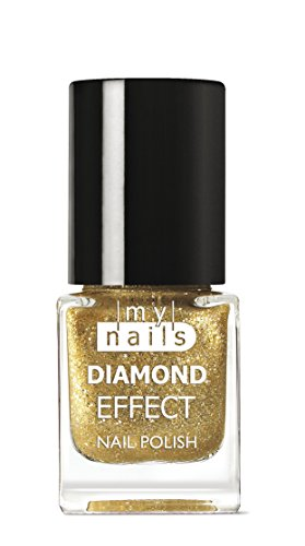 My Nails – Gold Diamond Effect