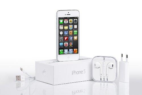 Apple iPhone 5 Smartphone (4 Zoll (10,2 cm) Touch-Display, 16 GB Speicher, iOS 6) weiß - 6