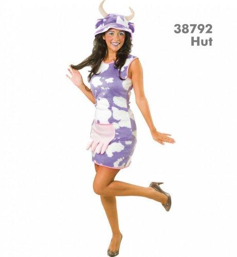 Kuh Leni Kleid Damen Kleid Kostüm Fasching Gr. 36 - - Billig Bauern Kostüm