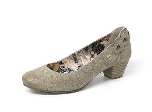 Marco Tozzi Donna scarpa décolleté grigio, (PEPPER ANTIC) 2-2-22306-22-344