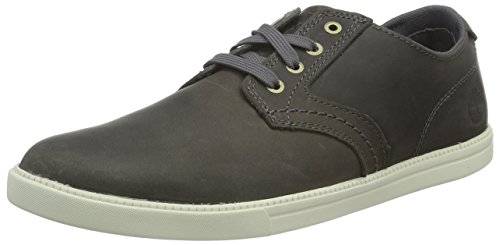 Timberland Fulk Ox, Chaussures à Lacets Homme Marron - Braun (Pewter Saddleback FULL GRAIN)