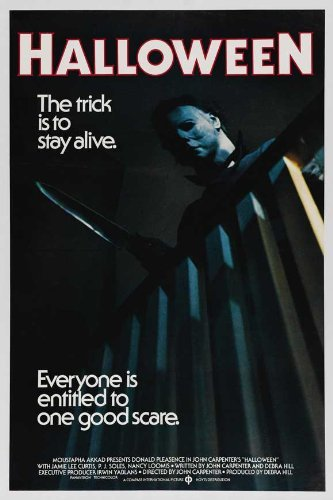 ie Poster 24x36 by The Gore Store (1978-halloween-movie-poster)