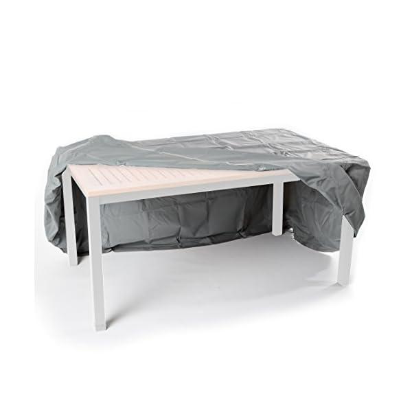 175 x 105 x 71 cm Ultranatura Fodera Protettiva in Tessuto per Tavolo da Giardino Quadrato Contro Le Intemperie Angolare