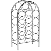 Sorbus® Wine Rack Stand Bordeaux Chateau Style - Holds 14 Bottles of Your Favorite Wine - Elegant Storage for Kitchen, Dining room, Bar, or Wine Cellar