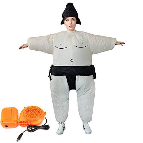OMAS Aufblasbare Kostüm für Erwachsene Sumo Wrestler Wrestling Kostüme für Erwachsene & Kinder Abendkleid Party Outfit Fasching Karneval Erwachsener
