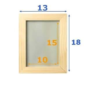 Ikea albrunna lot de 2 cadres en bois non trait peindre for 27 x 41 cadre ikea