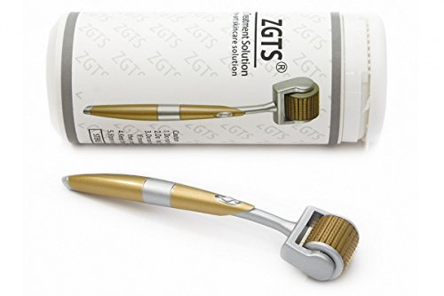 (0.30mm) - ZGTS Titanium Derma Roller Skin Therapy All Sizes 0.20mm, 0.25mm, 0.30mm, 0.50mm, 0.75mm, 1mm, 1.5mm, 2mm, 2.5mm (0.30mm)