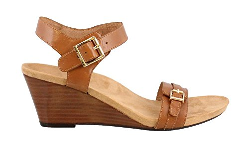 Vionic Womens 382 Laurie Leather Sandals Tan