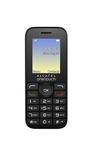 Alcatel-One-Touch-OT-10-16D-Cellulare-Dual-SIM-Volcano-Nero-Italia