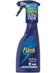Flash Ultra Power Concentrated Cleaner Spray With Fresh Scent, 500 ml