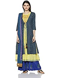Rain & Rainbow Women's Anarkali Salwar Suit