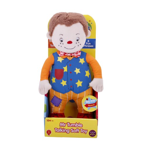Image of Something Special Mr Tumble Talking Soft Toy 24cm