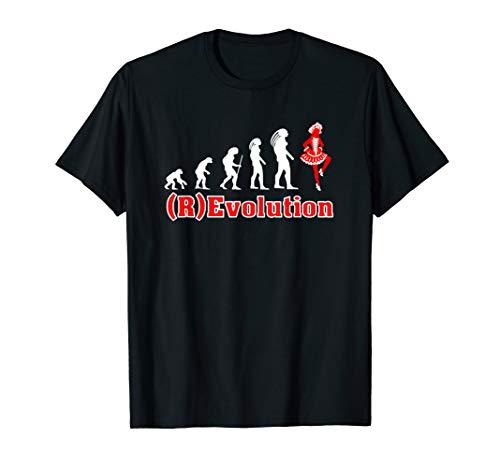 Tanz Kostüm Revolutions - Revolution des Gardetanz Fun shirt als Kostüm im Karneval
