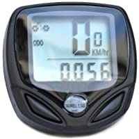 SODIAL(TM) Wireless Bike Computer Speedo Odometer Average Speed Maximum Speed Cycle Bicycle