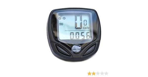 Entfernungsmesser Mit Rad : Sodial r wireless fahrrad computer entfernungsmesser speedo