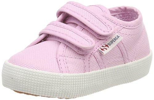Superga 2750 cotbumpvel, sneaker unisex – bambini, (pink sg30), 25 eu