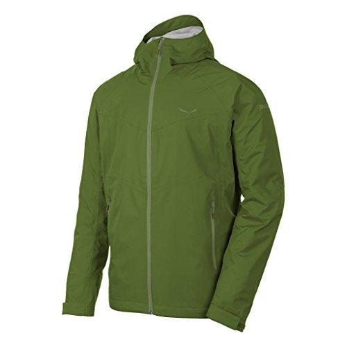 Salewa Herren Puez Aqua 3 Ptx Jacke Regenjacken cedar green/5870