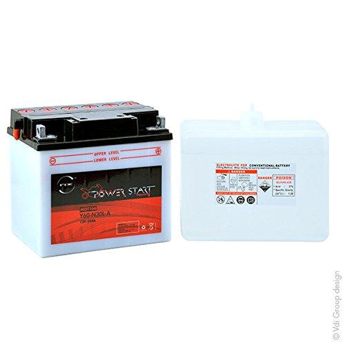 NX - Batteria moto Y60-N30-LA / N60-N30-LA / 53030 12V 30Ah