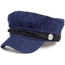 LMZXH M Cuerda Negra Fixed Adult Costura Lace Pirate Silver Button Hat d9e8e84bc32