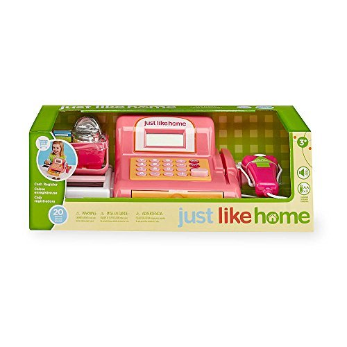 Just Like Home Cash Register - Pink by Just Like Home