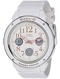 Casio Baby-G Analog-Digital White Dial Women's Watch - BGA-150EF-7BDR (B164)