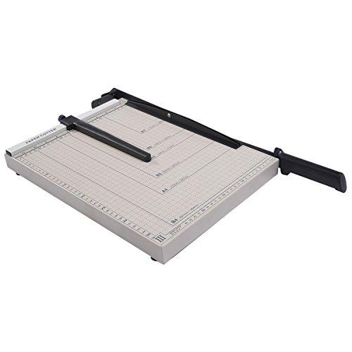 Papierschneider Papierschneidemaschine A4 Papier und Foto Schneidegerät Kopieshop Drückerei schneidemaschine Hebelschneider für B4, A4, B5, B6, B7