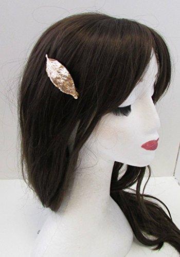 Feuille d'or Barrette cheveux clip grecque romaine Boho Vintage feuilles Woodland broches A88 * * * * * * * * exclusivement vendu par – Beauté * * * * * * * *