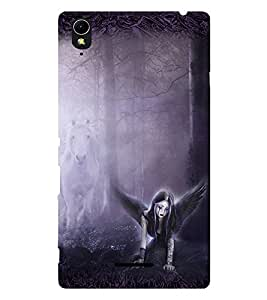 Fuson 3D Printed Girly Designer back case cover for Sony Xperia T3 - D4152