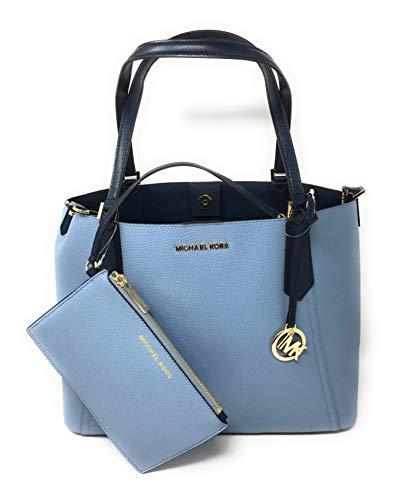 Michael Kors Kimberly Grab Bag Pale Blue Navy