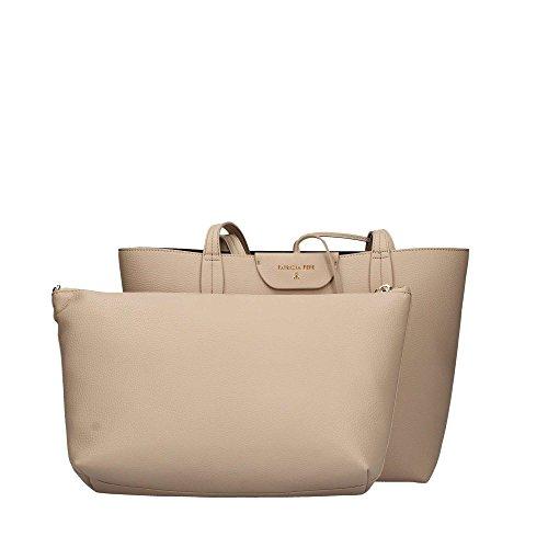 Patrizia Pepe Double Shopper 30 cm double beige/black