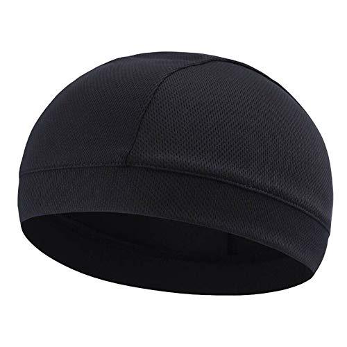 Alexsix 1 Pcs Moisture Wicking Cooling Skull Cap Inner Liner Helmet Beanie Dome Cap Sweatband -