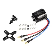 Funnyrunstore UNNYSKY X2216 1250KV II 3.175mm 2-4S Outrunner Brushless Motor for RC Drone 400-800g Fixed-wing 3D Airplane Multirotor Copter