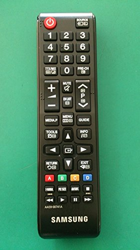 Samsung AA59-00741A - Mando a distancia de repuesto para TV, color negro