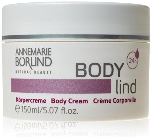 Annemarie Börlind Body Lind femme/woman, Körpercreme, 1er Pack (1 x 150 ml) - Damen Body Powder