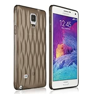 Baseus Air bag Case Samsung Galaxy Note 4 Gold