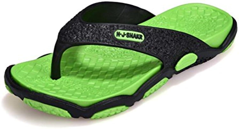 FFTX Sandali e e e pantofole da spiaggia antiscivolo da uomo Flip Flops Summer, verde, 45 | Conosciuto per la sua bellissima qualità  6cc21f