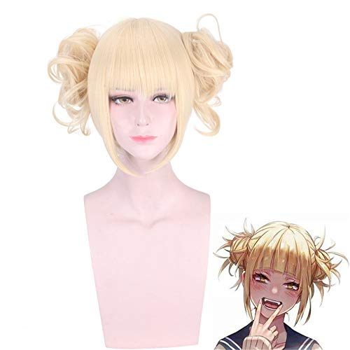 Unisex Kostüm Erwachsene Für Toga - DuHLi Boku No Hero Academia Cross My Body Perücke Cosplay Kostüm My Hero Academia Himiko Toga Synthetic Hair Party Rollenspiel Perücken