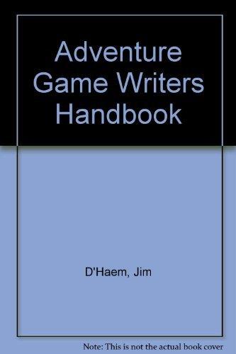 Adventure Game Writers Handbook by J. Walkowiak (1985-06-02)
