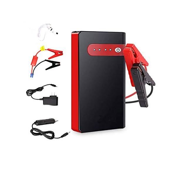 12000mAh del banco portable de la energía del salto del coche del arrancador, 12V Auto batería de refuerzo, con puerto…