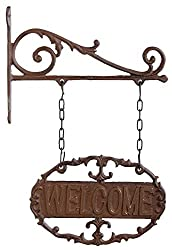 Fallen Fruits Wall Bracket Welcome Sign
