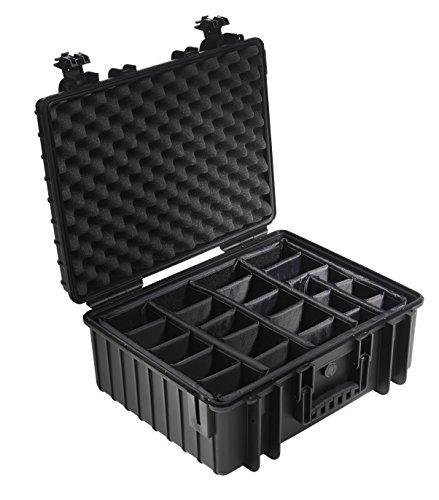B&W outdoor.cases Typ 6000 mit variabler Facheinteilung (RPD) - Das Original