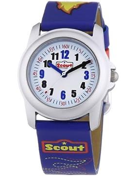 Scout Jungen-Armbanduhr Analog Quarz Plastik 280302005