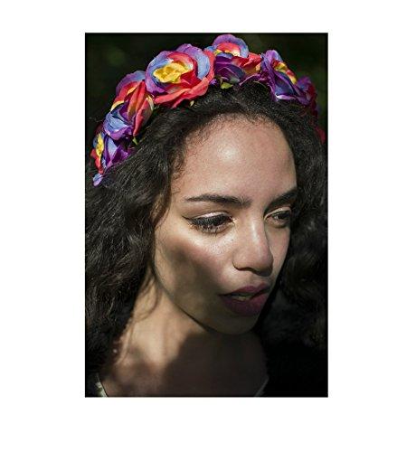 Arc-en-ciel rose cheveux fleur couronne bandeau Guirlande Boho festival Vintage feuilles U79 * * * * * * * * exclusivement vendu par – Beauté * * * * * * * *