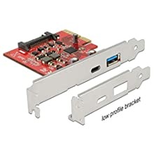 DeLOCK 89898 Carte et Adaptateur d'interfaces Interne USB 3.1 - Cartes et adaptateurs d'interfaces (PCIe, USB 3.1, Asmedia ASM2142, 10 Gbit/s, Boîte)