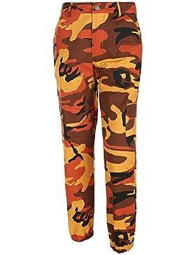 Pantalones de camuflaje de mujer - Jogger Dance Pant, pantalón militar Hip Hop Jogger Dance Pant