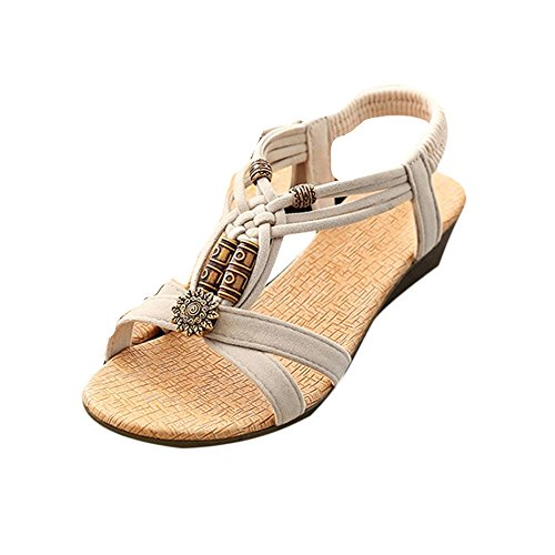 Ouneed®  Casual,  Sandali Donna Beige