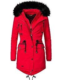 Marikoo Rose Abrigo de Invierno Parka para Mujer 8 Colores XS-XXL caf5b06f5e6d